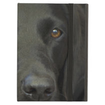 Black Labrador Dog iPad Air Covers