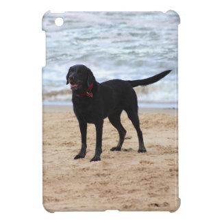 Black Labrador Dog iPad Mini Cover