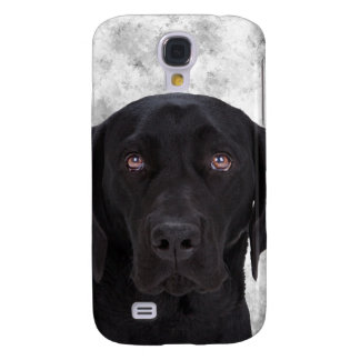 Black Labrador Dog Samsung Galaxy S4 Case