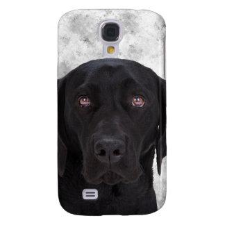 Black Labrador Dog Samsung Galaxy S4 Case