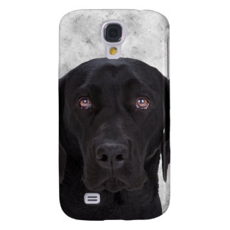 Black Labrador Dog Samsung Galaxy S4 Cover