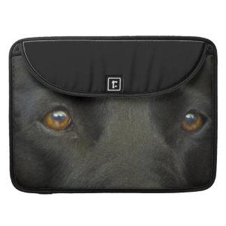 Black Labrador Dog Sleeve For MacBook Pro