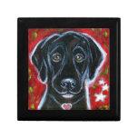 Black Labrador love Gift Box