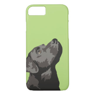 Black Labrador Phone Case (Choose Your Own Colour)