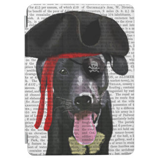 Black Labrador Pirate iPad Air Cover