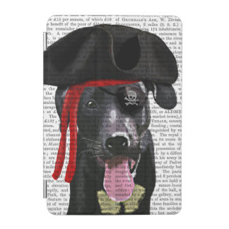 Black Labrador Pirate iPad Mini Cover