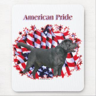 Black Labrador Pride Mouse Pad