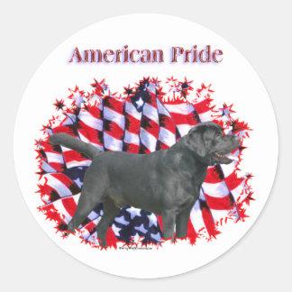 Black Labrador Pride Sticker