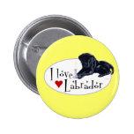 Black Labrador Puppy Pins