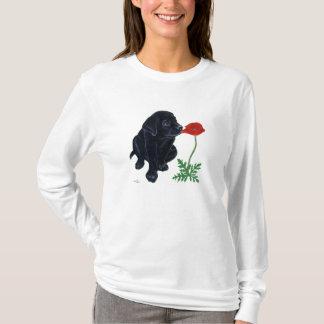 Black Labrador Puppy T-Shirt