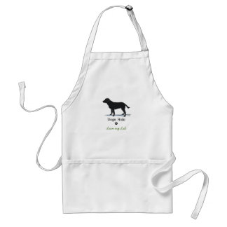 Black Labrador Retriever Adult Apron