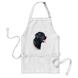 Black Labrador Retriever Aprons