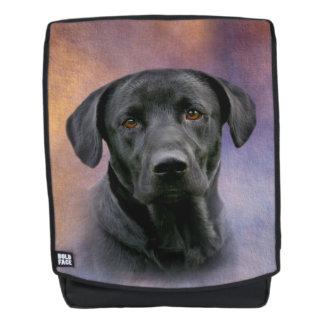 Black Labrador Retriever Backpack