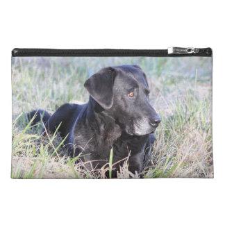 Black Labrador Retriever Travel Accessory Bag