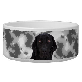 Black Labrador Retriever Bowl