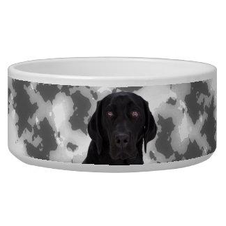 Black Labrador Retriever Bowl