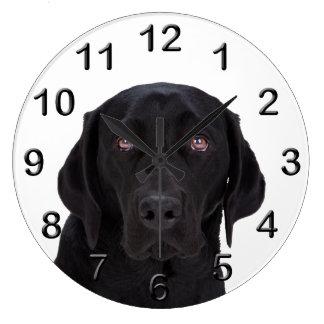 Black Labrador Retriever Clocks