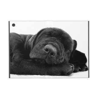 Black Labrador Retriever Cover For iPad Mini