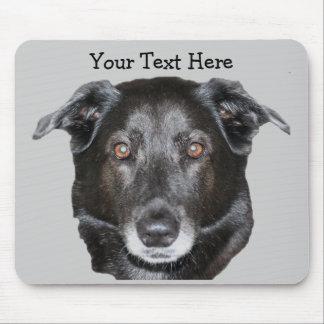Black Labrador Retriever Dog Mousepad