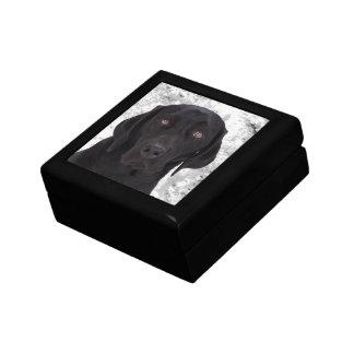 Black Labrador Retriever Jewelry Box