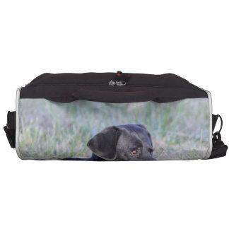 Black Labrador Retriever Commuter Bag