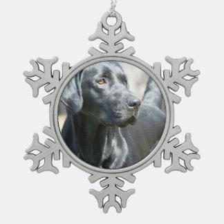 Black Labrador Retriever Ornaments
