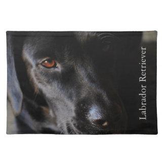 Black Labrador Retriever Placemat