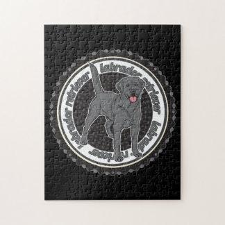 Black Labrador Retriever Puzzle