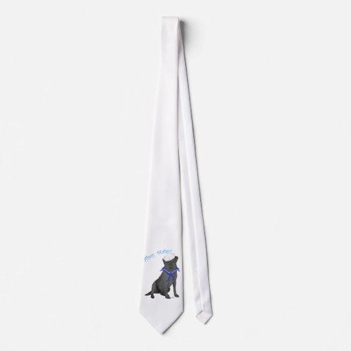 Black Labrador Retriever Sailor Tie