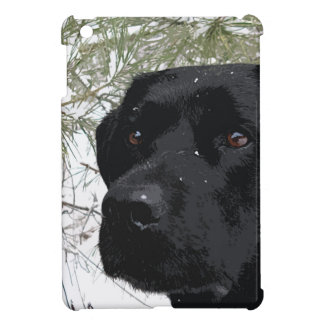 Black Labrador - Sparkling Pines iPad Mini Cases