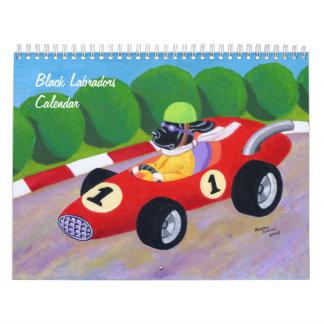 Black Labradors Calendar 2016 A