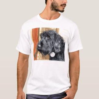 Black Labrdoodle #1 t-shirt