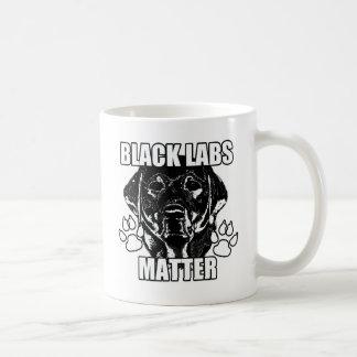 BLACK LABS MATTER 2 COFFEE MUG