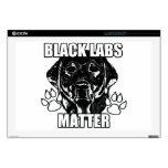 BLACK LABS MATTER 2 SKIN FOR LAPTOP