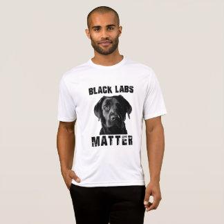Black Labs Matter T-Shirt
