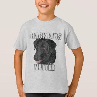 Black Labs Matter Two T-Shirt