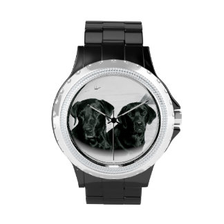 Black Labs Wrist Watch