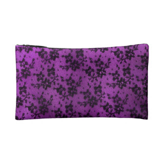 Black Lace Cosmetic Bags