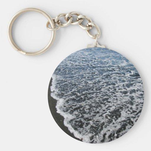 Black Lace Beach 4 Key Chain