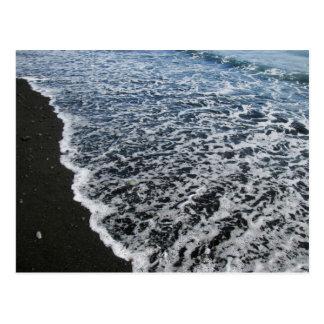 Black Lace Beach 4 Postcard