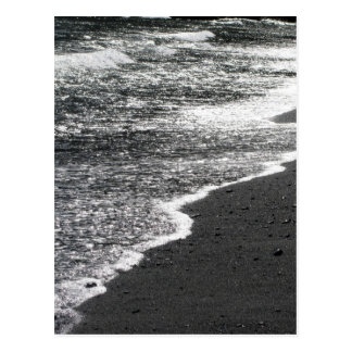 Black Lace Beach 5 Postcard