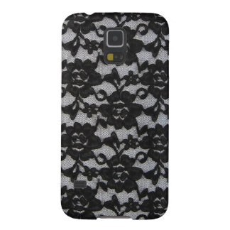 Black Lace Case For Galaxy S5