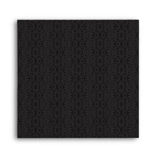Black Lace Envelope - Square