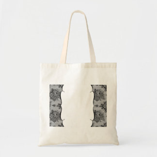 Black Lace French Background Bags