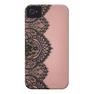 Black lace iPhone 4 Case-Mate case