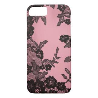 Black lace iPhone 8/7 case