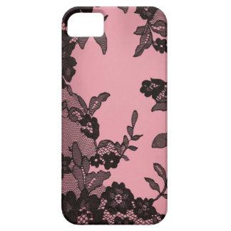 Black lace iPhone SE/5/5s case