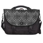 Black Lace Laptop Bag