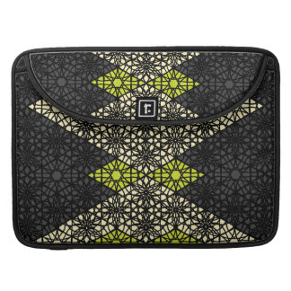 Black Lace Patterned Laptop Sleeve