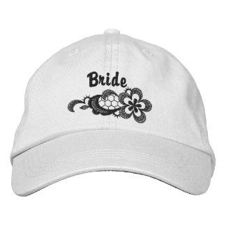 Black Lace Wedding - Bride Hat
